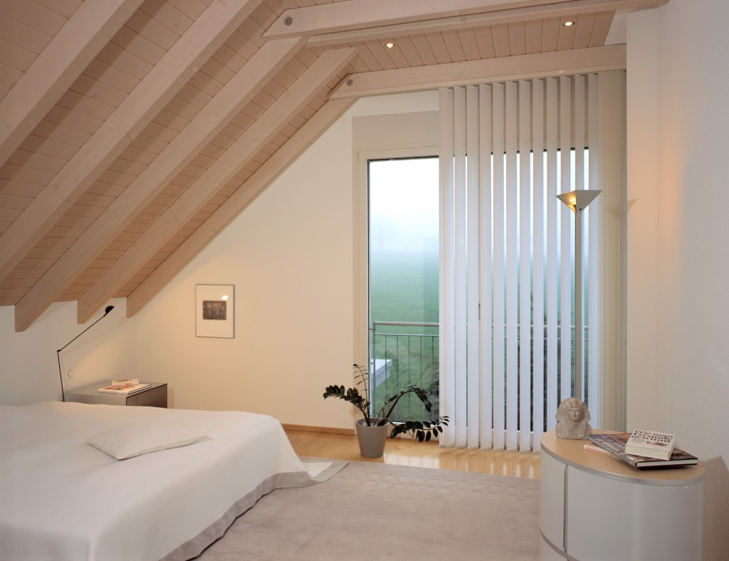 Vertical blind, bedroom